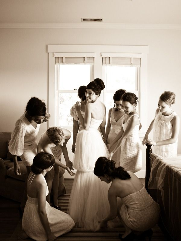 loveee the bridesmaid dresses for this wedding