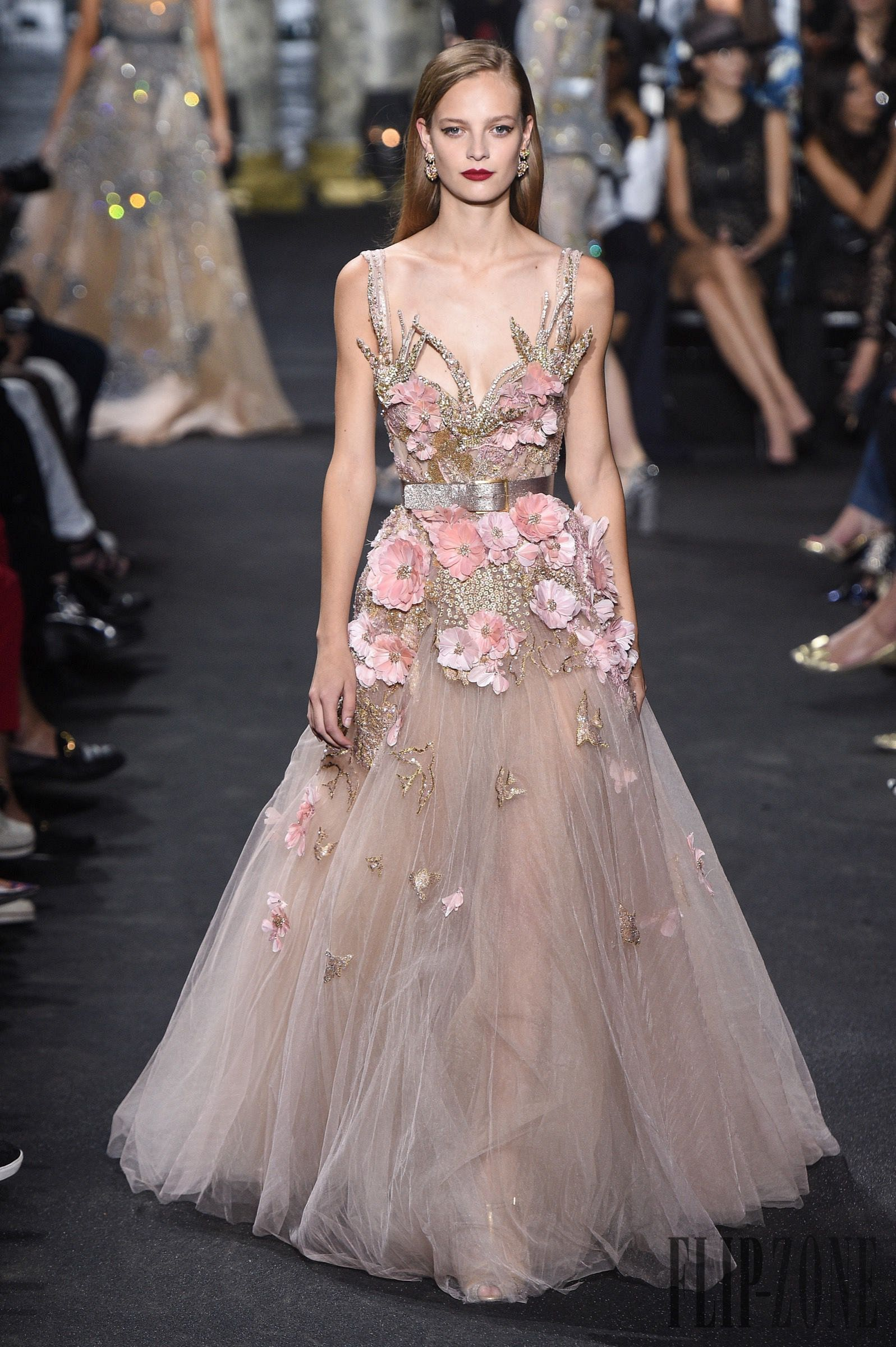 Pink Snowflakes 19 Pink Haute Couture Gowns This Winter