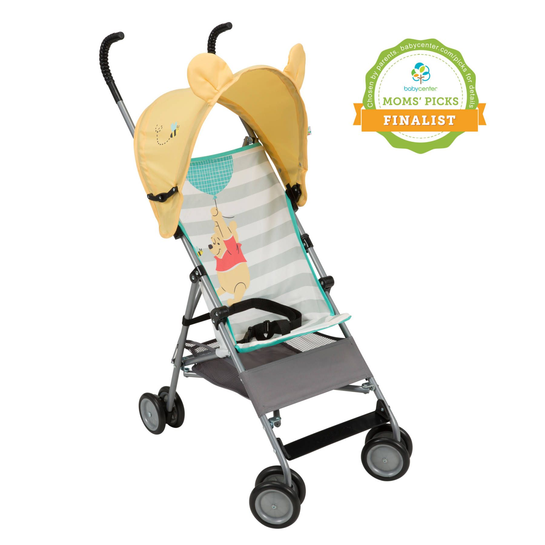 Winnie the Pooh Comfort Height Character Umbrella Stroller
