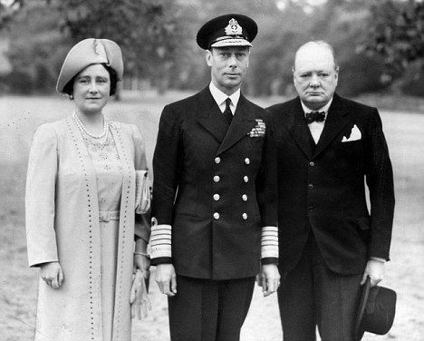 Image result for regina and Winston Churchill