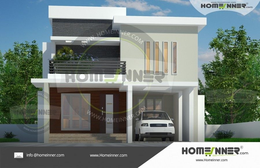 1576 Sq Ft Modern Economic Home Design Homeinner Best Home Design Magazine Modern House Design Contemporary House Plans Duplex House Design
