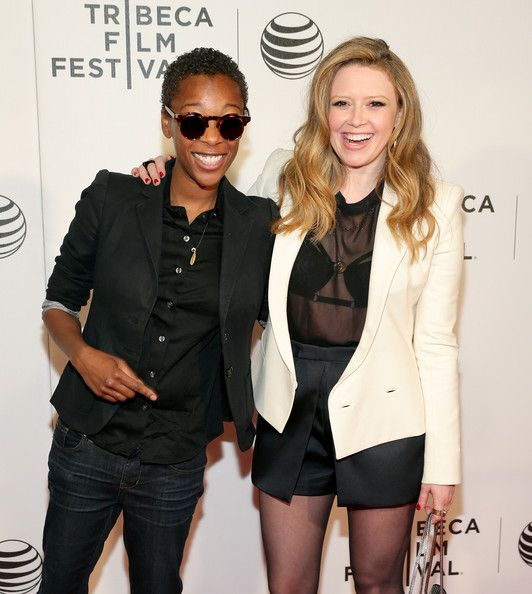 "Samira Wiley - ""Loitering With Intent"" Premiere - 2014 Tribeca Film Festival Love her sunglasses"