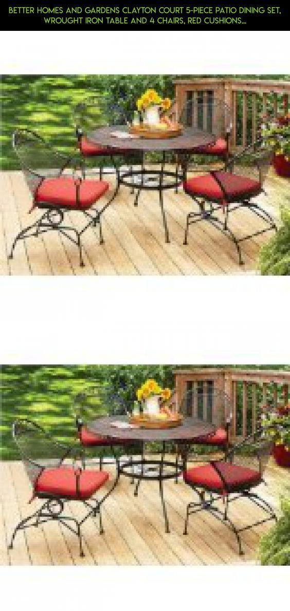 better homes and gardens clayton court 5 piece patio dining set rh pinterest com