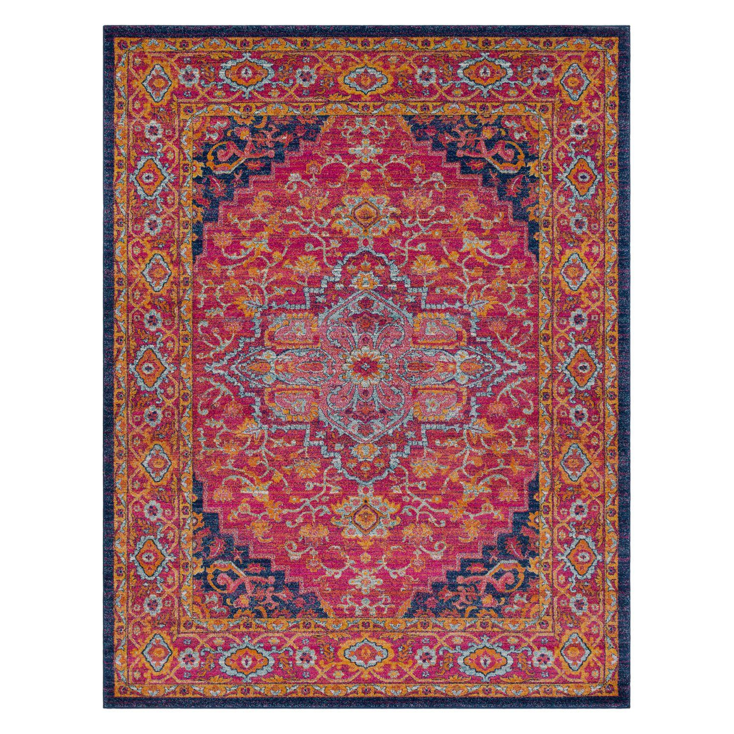 Best Surya Harput Kingship Medium Pile Rug Orange Area Rug 400 x 300
