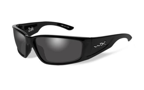 4dfe0e0997 WILEY-X-ZAK-POLARIZED-GREY-LENS-w-GLOSS-BLACK-FRAME-SUNGLASSES ...