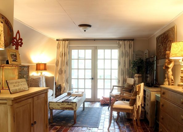 French Country A Frame Cottage, Dining Room Ideas, Fireplaces Mantels, Home  Decor,