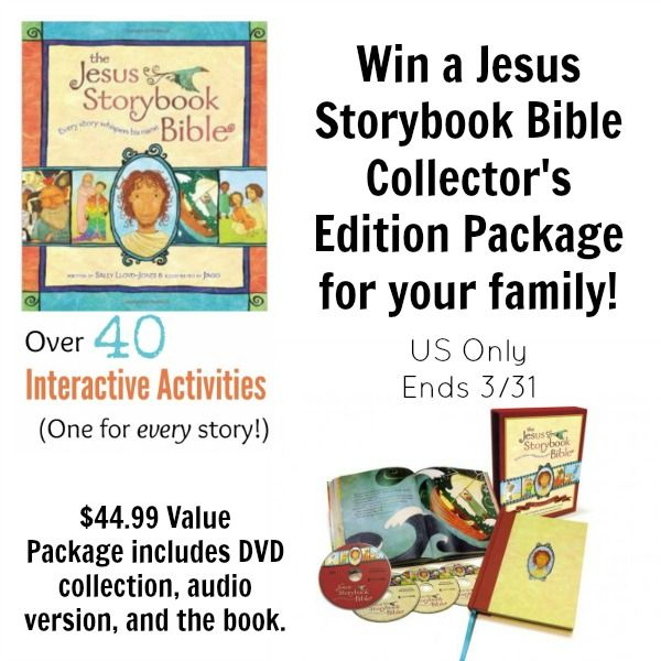 The Jesus Storybook Bible Hands On Activities And Crafts Bible