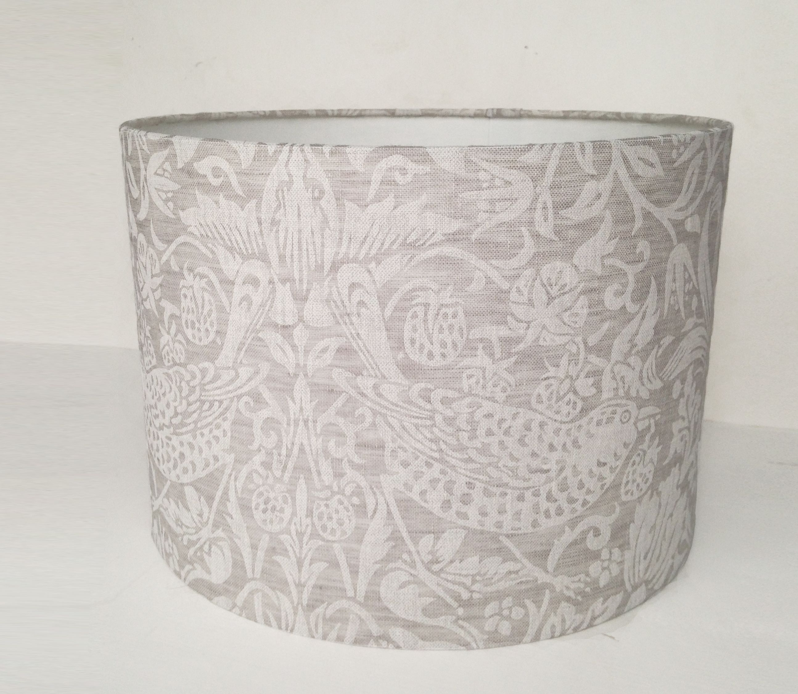 lamps linen greenwich lampshades metal lamp table fresh hand beautiful shades printed shade of