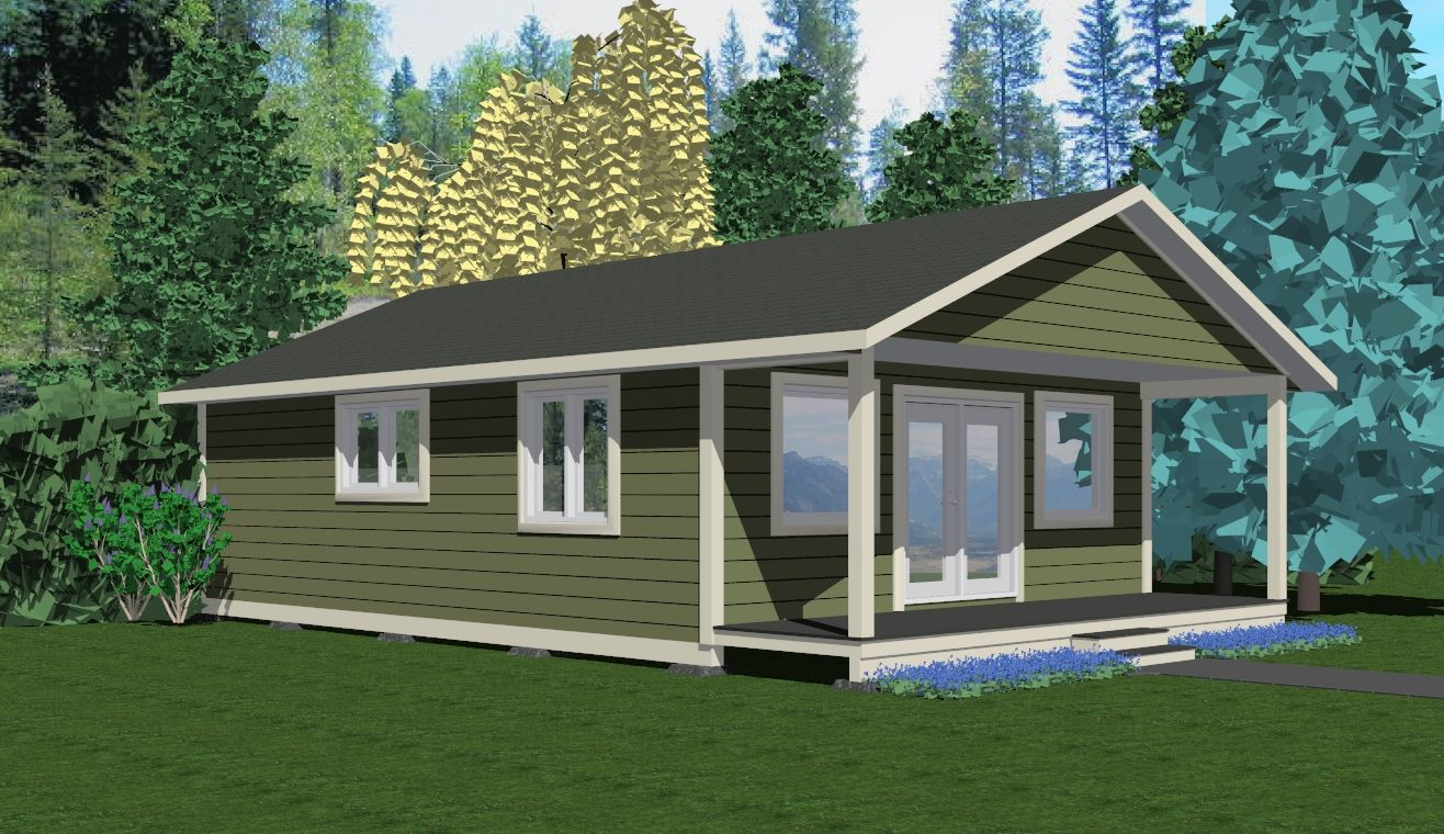The Cabot Prefab Cabin and Cottage Plans Winton Homes