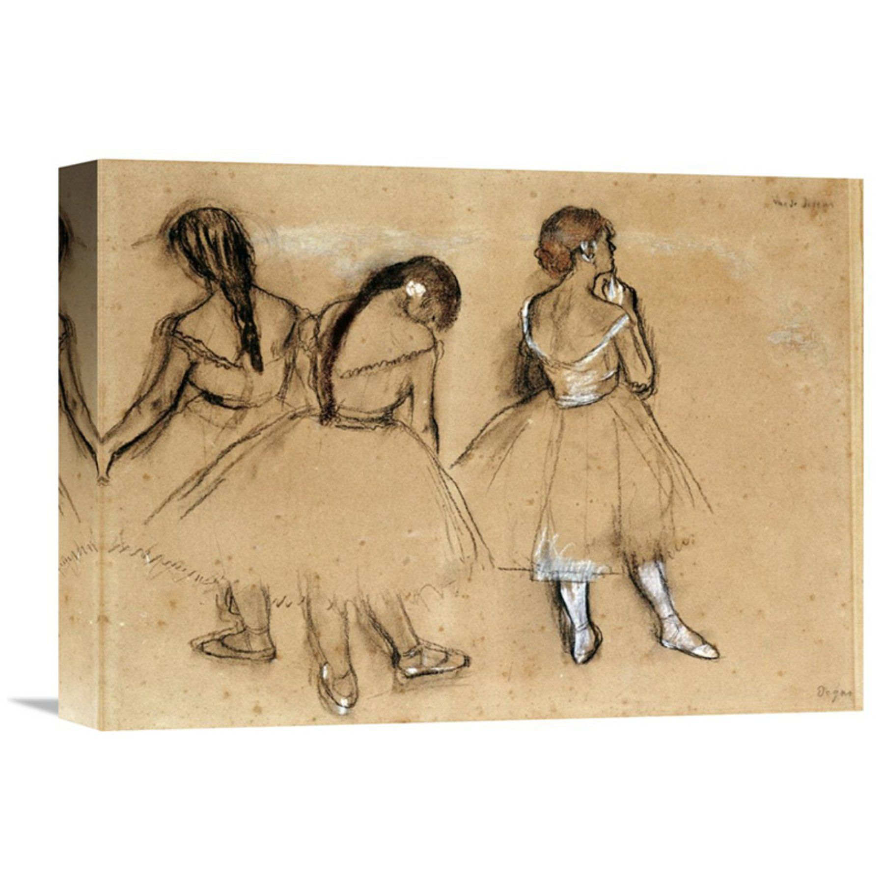 Global Gallery Three Dancers Wall Art - GCS-264815-16-142 | Products