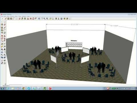 How to Use SketchUp to Create an Event Layout - YouTube GOOGLE