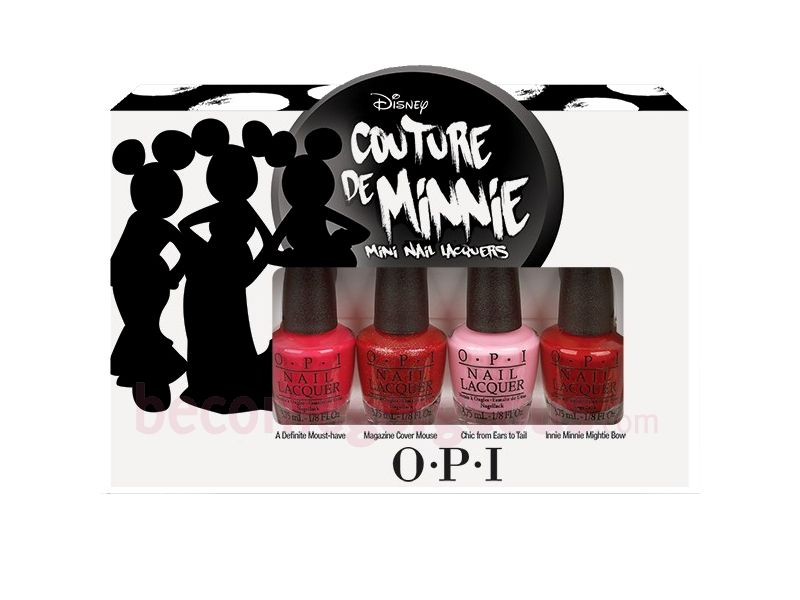 OPI Couture de Minnie | Art of Nails - OPI | Pinterest | OPI, Minnie ...