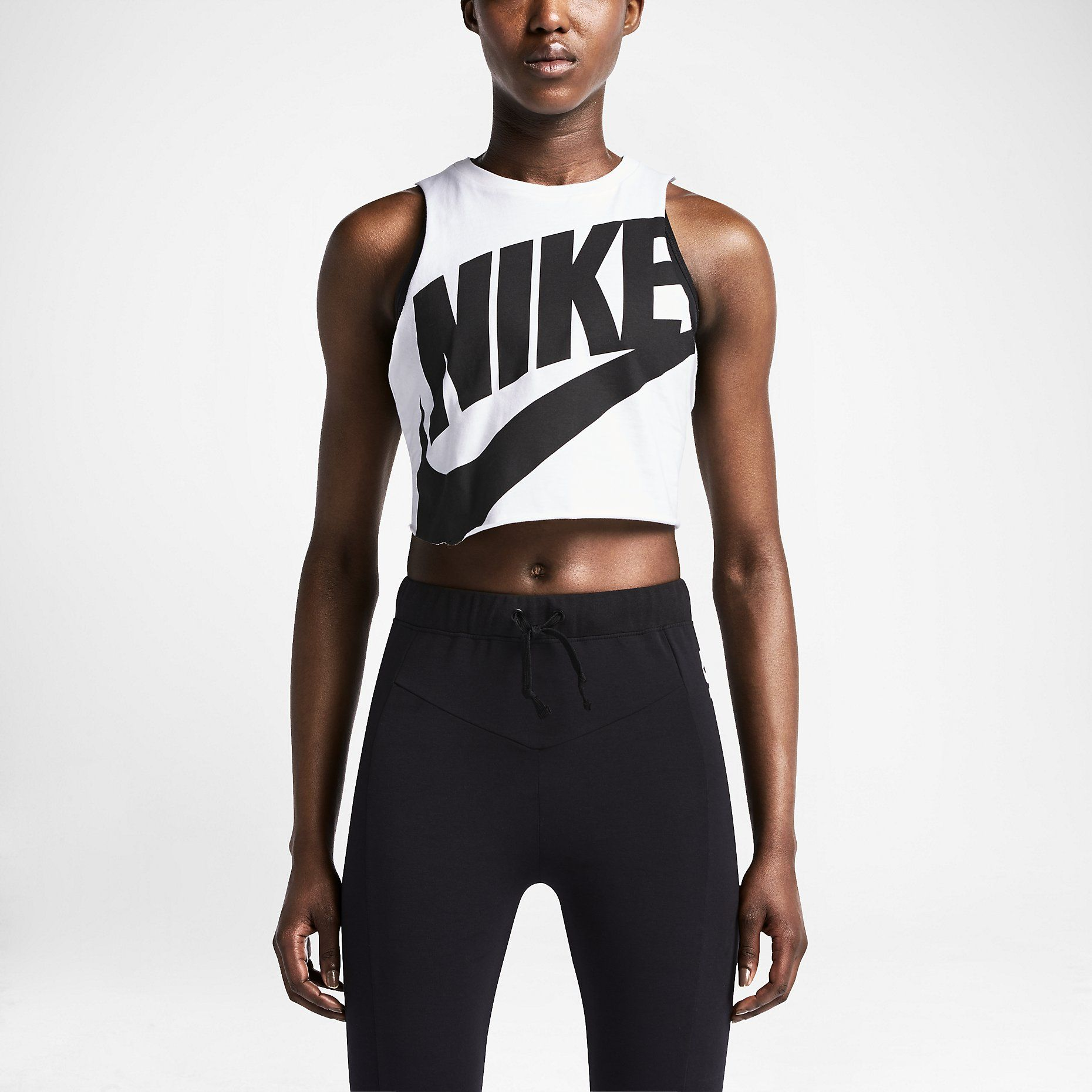 73be2761190e Nike Track And Field Cropped Sleeveless Women s Top.