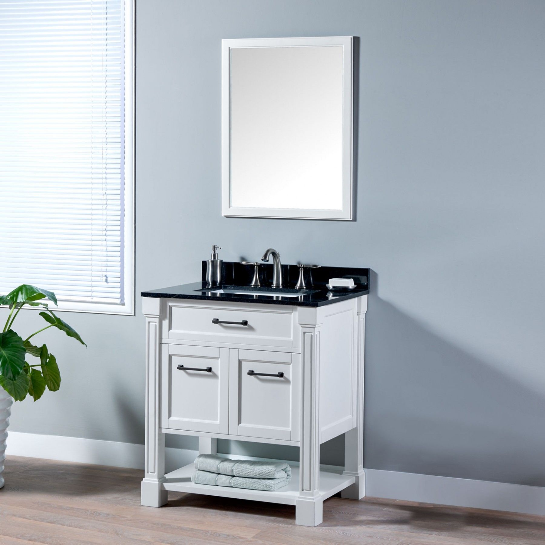 Classic Design Development White Brown Contemporary Bathroom Sinks Bathroom  Vanity With Minimalist Design With Modern Design