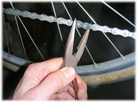 Chain Maintenance Fiets