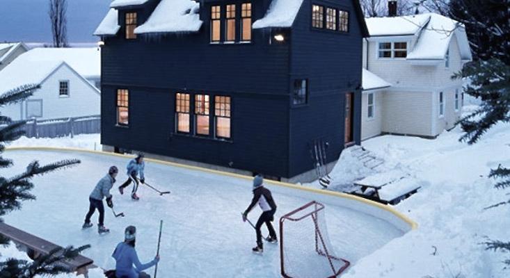 Hardscaping 101: Backyard Ice Skating Rinks in 2020 ...