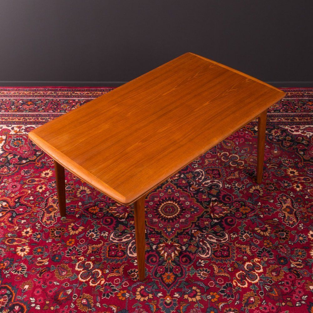 For Sale Teak Dining Table By Svend Aage Madsen For K Knudsen Denmark 1960s