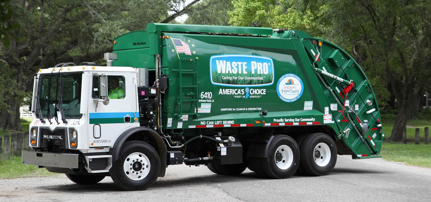 From The End Of The Driveway To The Environment Waste Pro Has A Commitment To Caring Waste And Recycling Workers Week Garbage Truck Trucks Waste