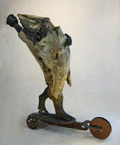 Trottinett sculpture