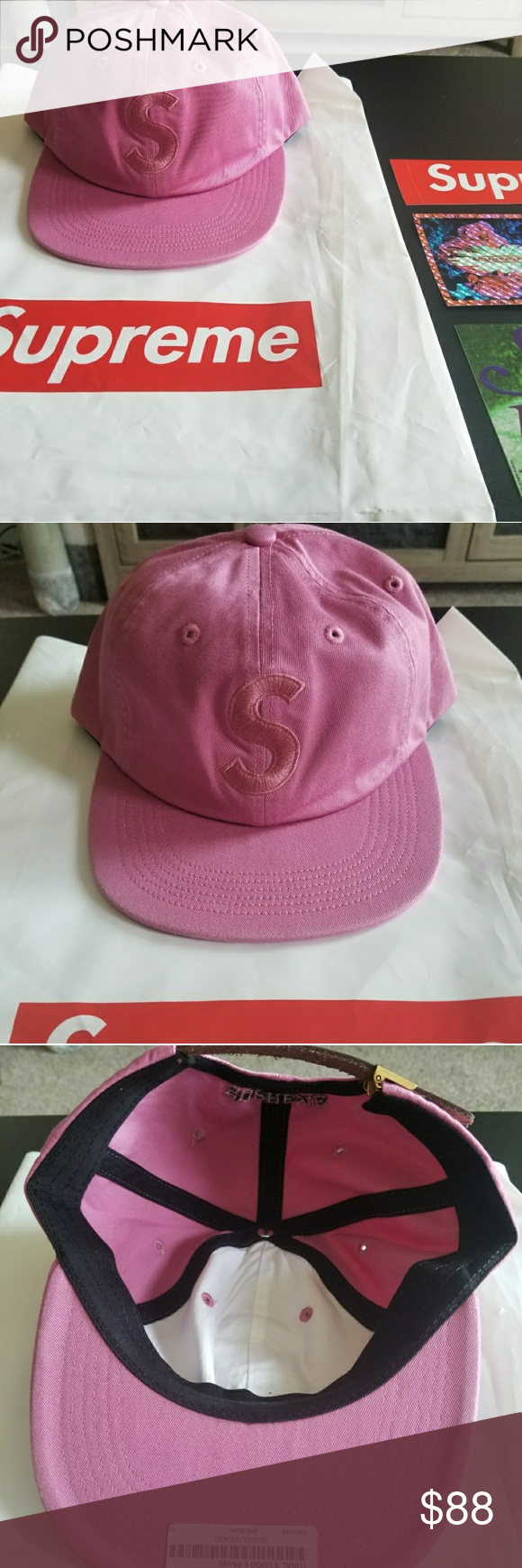 40b458ee01c FW 17 Supreme Tonal S Logo 6-Panel Cap Brand NEW! Straight from Supreme  NewYork website. Color  Bright Rose Comes with 3 supreme stickers! Supreme  Other
