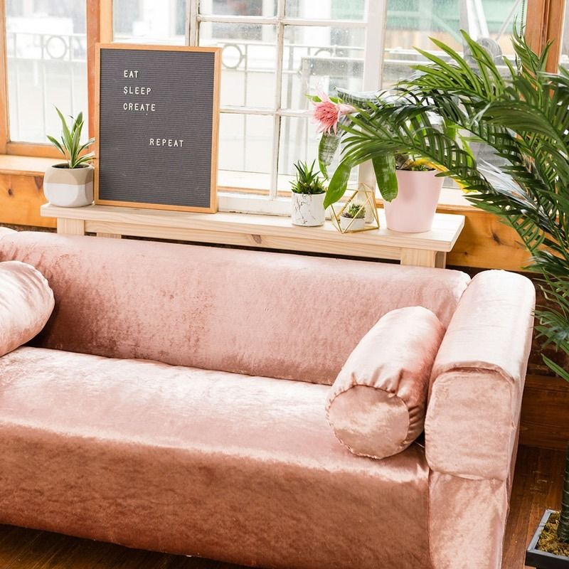 You Can Upholster An IKEA Couch To Look Like A More