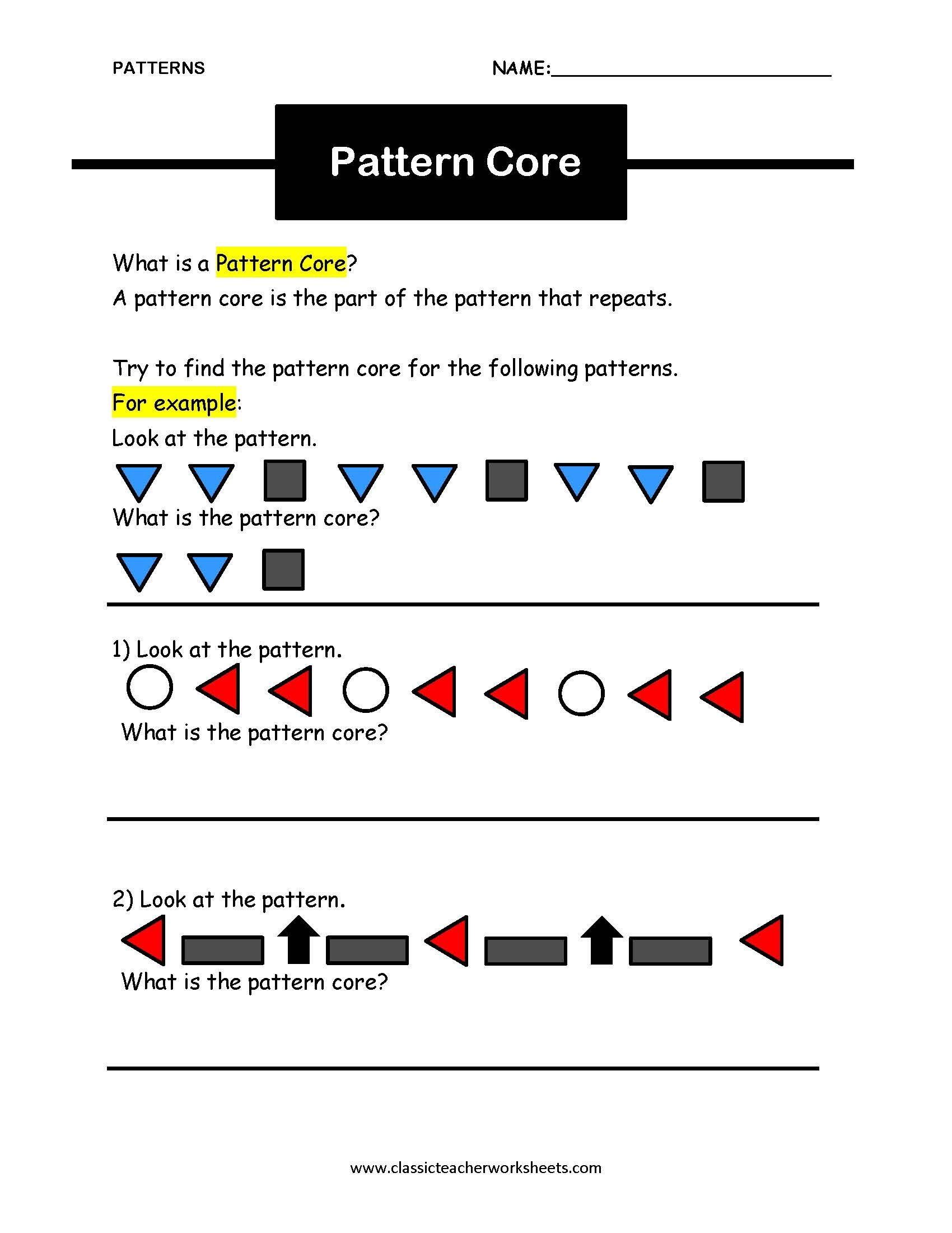 Uncategorized Finding Patterns In Math Worksheets check out our collection of math worksheets at classicteacherworksheets com worksheet patterns