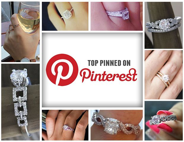 Glimpse Of The Most Pinned Diamond Ring On Pinterest 2014