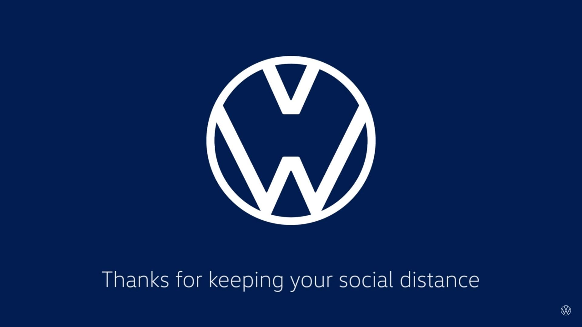 Mercedes Benz Audi And Volkswagen Show New Logos To Encourage Social Distancing Top Speed In 2020 Volkswagen Logo Redesign Volkswagen Logo