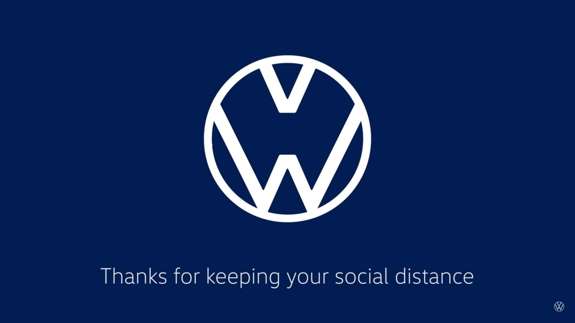 Mercedes Benz Audi And Volkswagen Show New Logos To Encourage Social Distancing Top Speed In 2020 Volkswagen Logo Redesign Volkswagen Logo