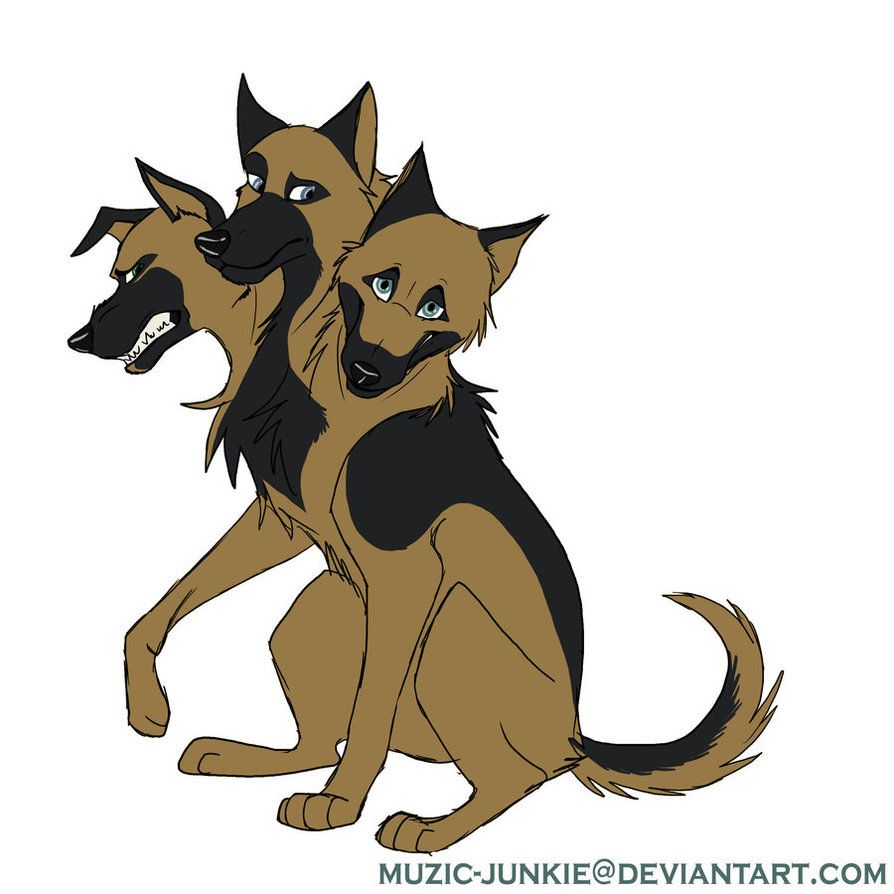 Pictures Of Cerberus The Three Headed Dog