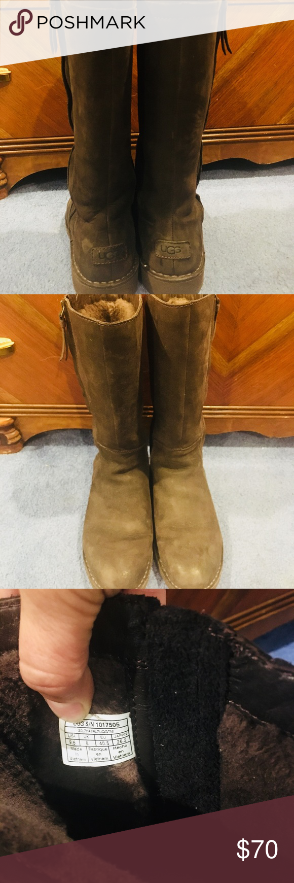 b4aaf21b8f6 Ugg Elly boot In chocolate. excellent condition Beautiful chocolate ...