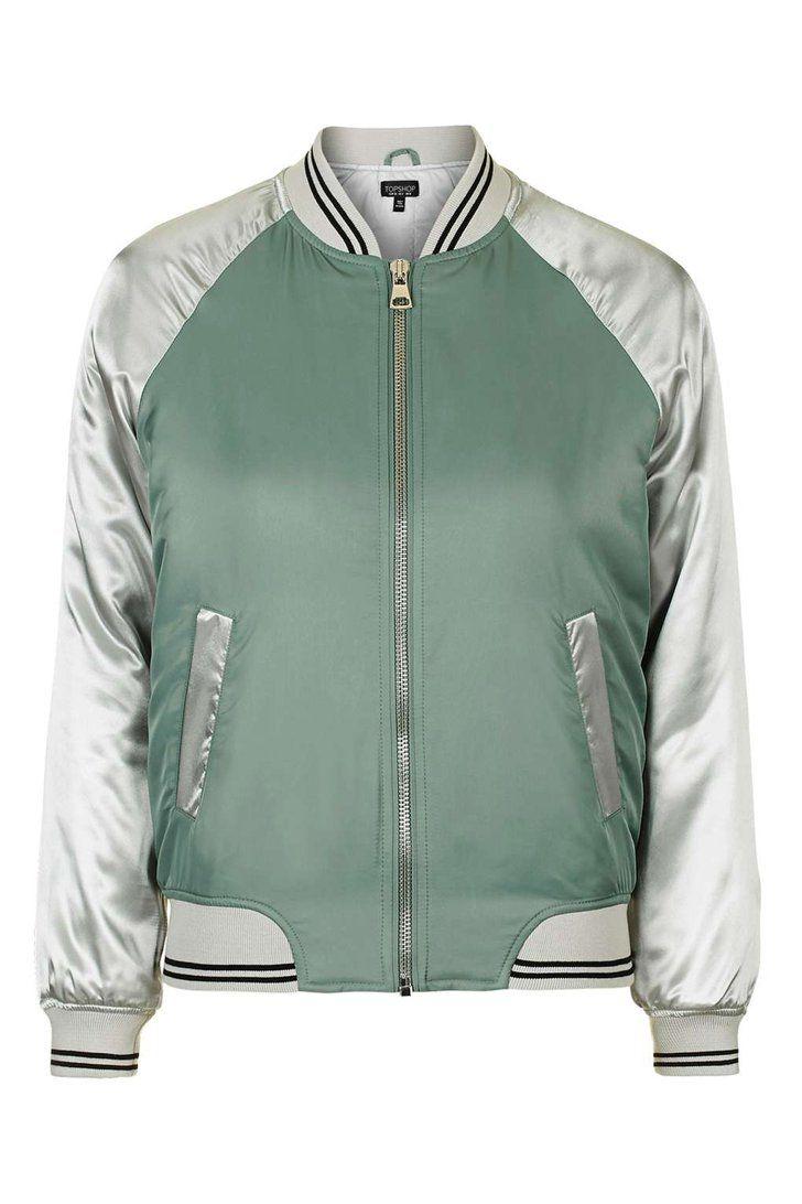 e5f018c41 Topshop Shiny Bomber Jacket   POPSUGAR UK   Bomber jacket, Jackets ...