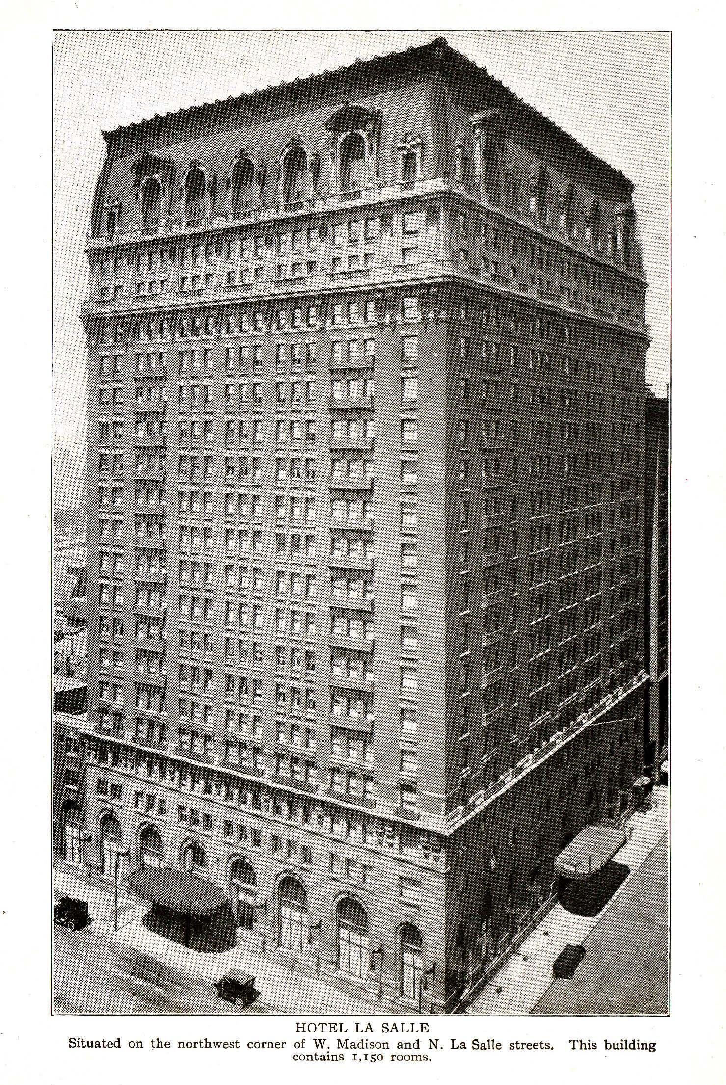 Hotel La Salle Chicago Illinois
