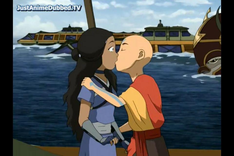 Aang And Katara Kiss 3 With Images The Last Airbender