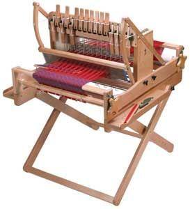 Traub-Wolle -> Webrahmen /- Stühle -> Ashfordwebstuhl -> Untergestell für 60 cm 16 Schäfte