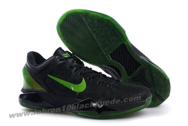 huge discount 231ec 1da96 ... wholesale now buy discount nike zoom kobe vii mens black green save up  from outlet store