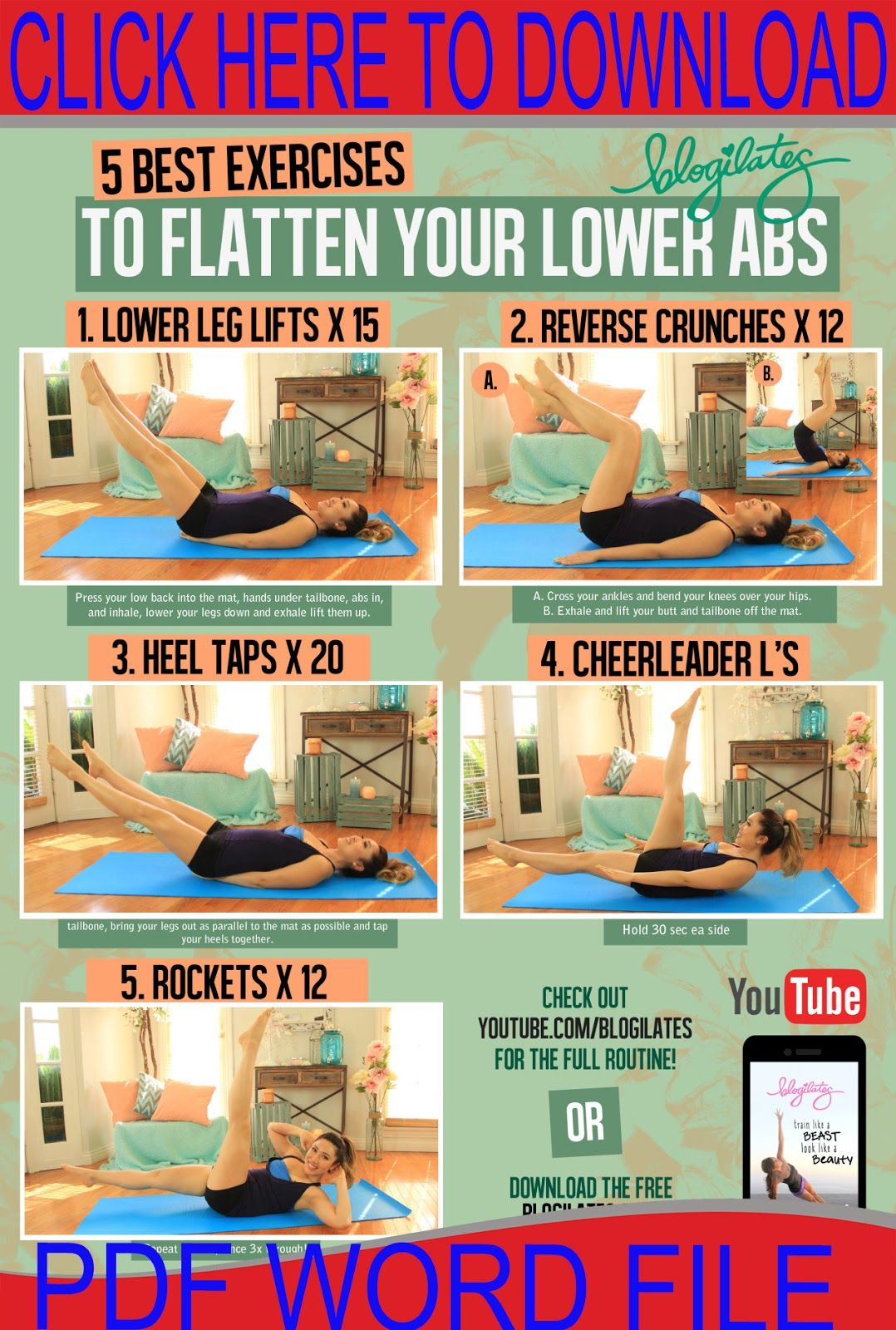 Lower Ab Workouts  workouts  Pinterest  Lower ab workouts Lower
