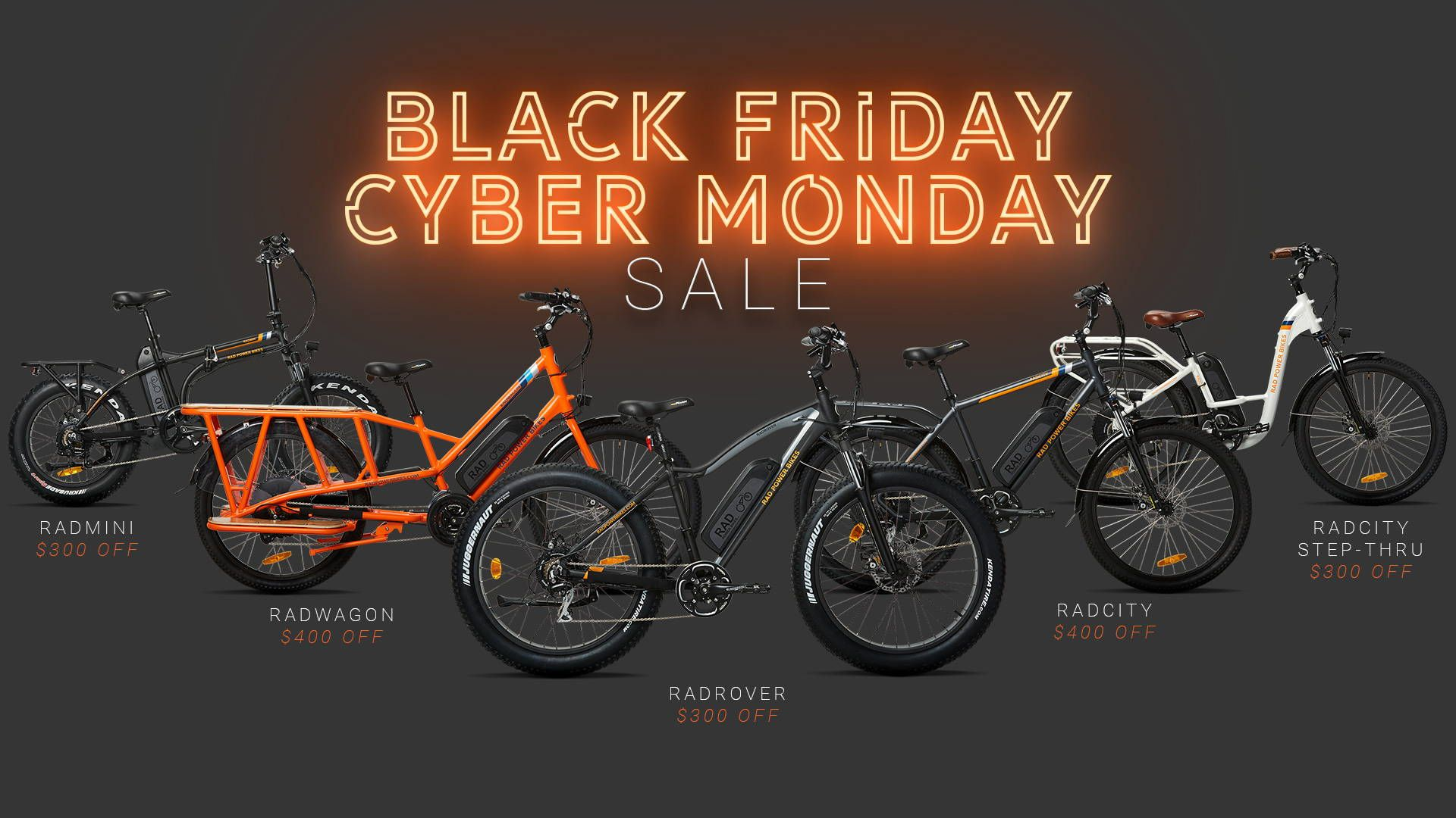 Black Friday Cyber Monday 2018 Rad Power Bikes Black Friday Black Friday Cyber Monday Cyber Monday