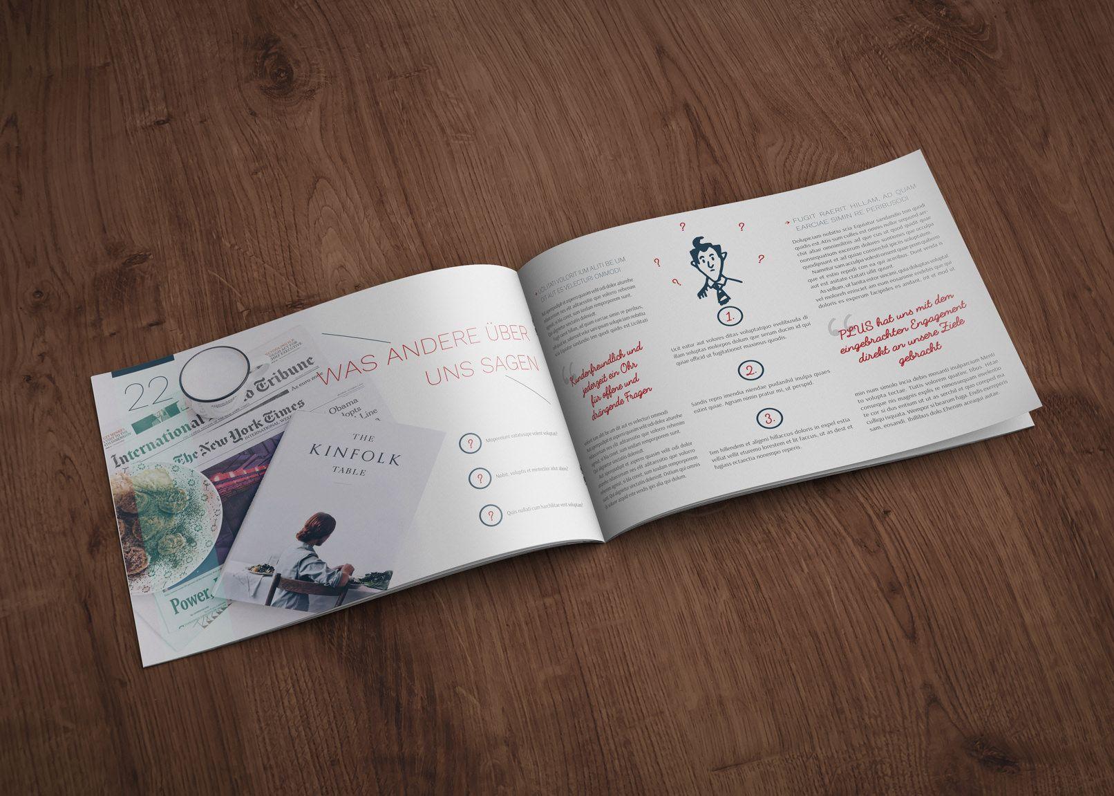 18 besten Design-Vorlagen für Zeitungen, Magazine und Kataloge ...
