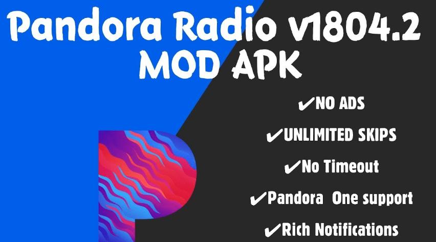 pandora 8.7.1 mod apk Music app, Pandora radio, Pandora