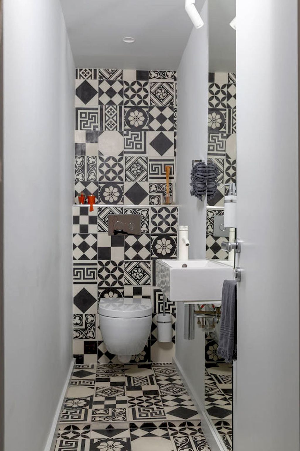 50 Awesome Small Powder Room Ideas D Co Salon Cocooning
