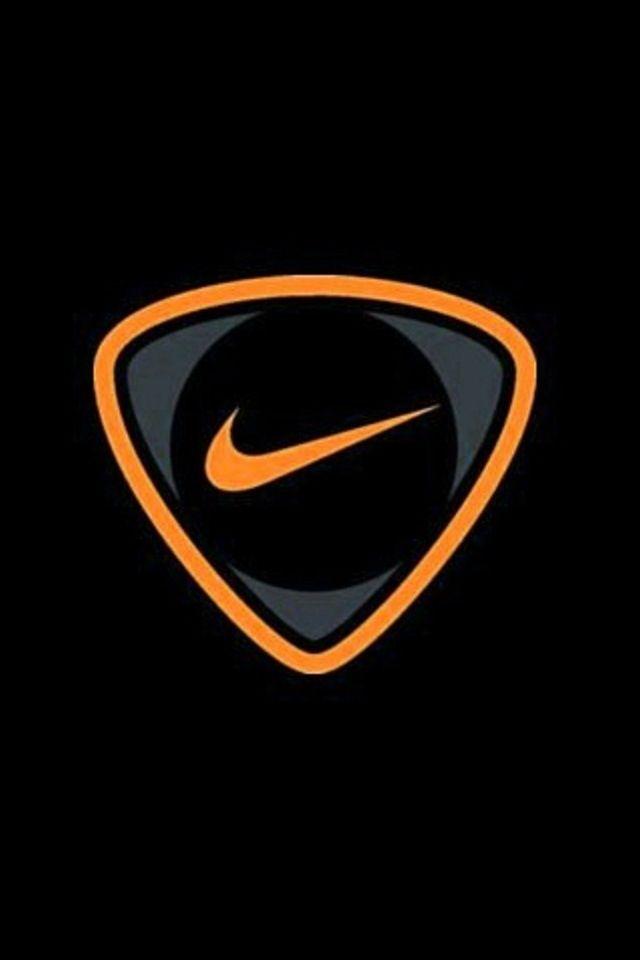 Orange Swoosh Papel De Parede Da Nike Papel De Parede Para Telefone Papeis De Parede Para Iphone