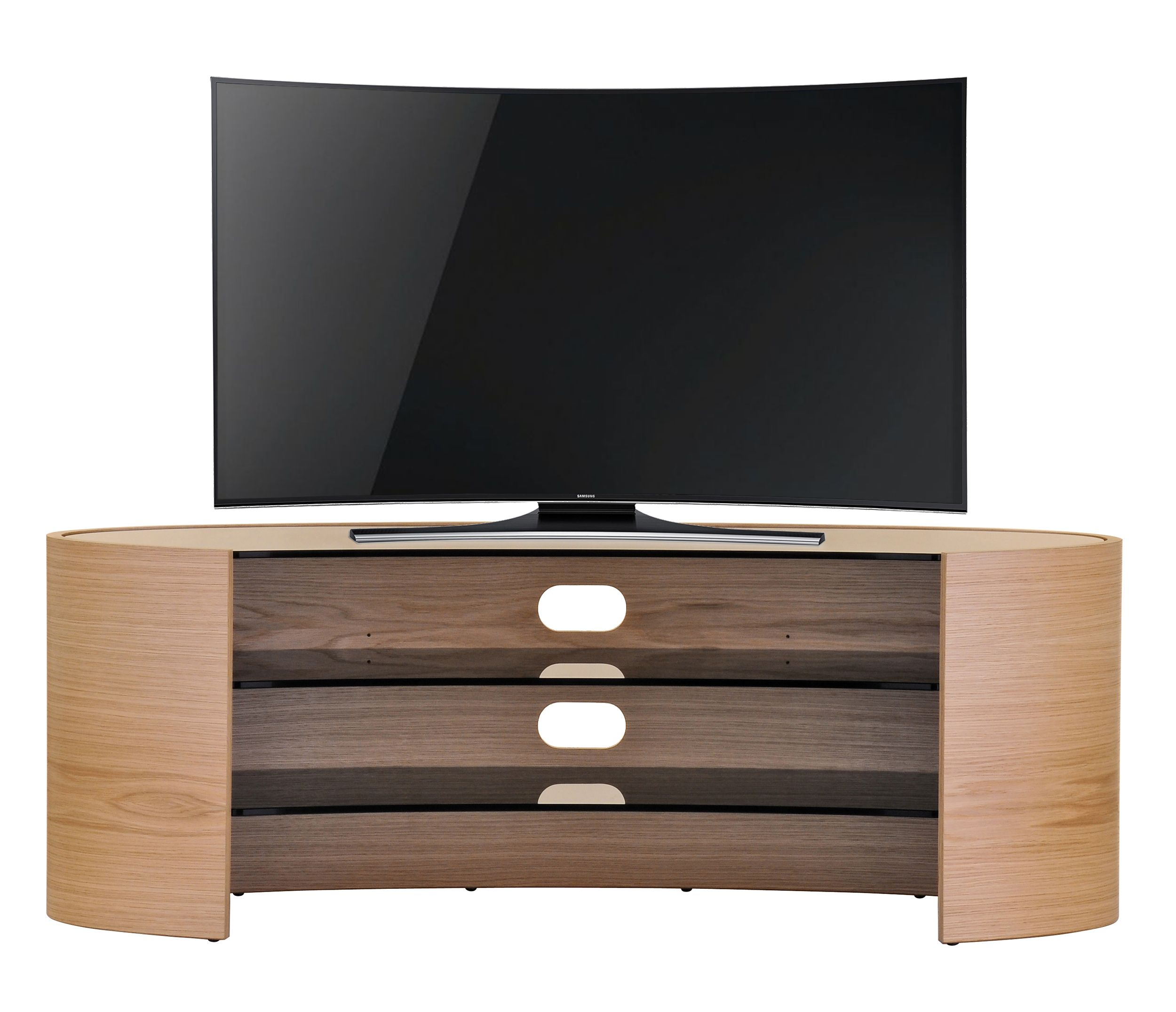 The Sublime Rolling Curves Of The Elliptical Home Theatre Unit  # Muebles Camarillo