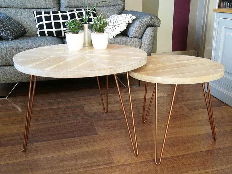 Pied De Table 30cm Hairpin Legs La Fabrique Des Pieds Table Basse Style Table Basse La Fabrique Des Pieds