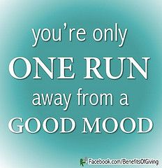 Image result for one run away from a good mood