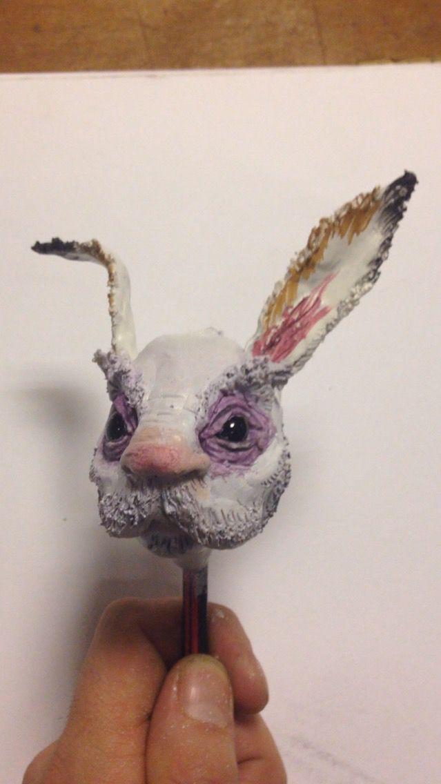Samuel Wyer  White rabbit model for mask