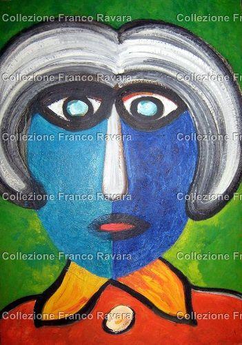 By Franco Ravara, Olio su cartone, 36x51 cm., rif. Q-0309, in vendita. Per info: collezionefrancoravara@gmail.com