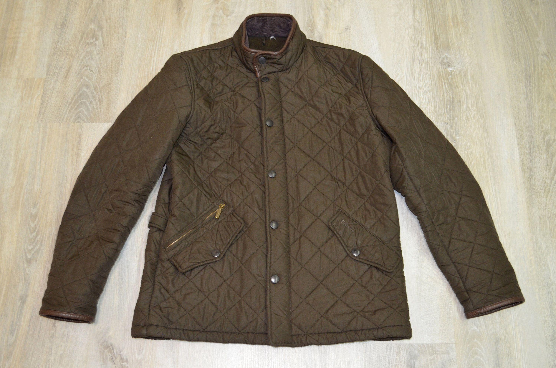 Vintage Barbour Mens Quilted Jacket Casual Coat Size L Etsy Quilted Jacket Men Vintage Clothing Men Mens Quilted Coat [ 1987 x 3000 Pixel ]