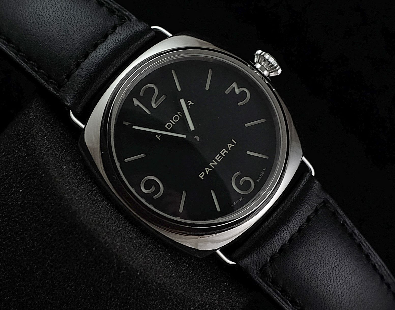 Panerai Radiomir Pam210 45mm H Ref No Pam 210 Movement Manual