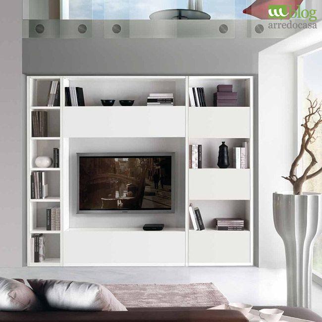 Stunning Parete Attrezzata Bianca Pictures - Home Design Inspiration ...